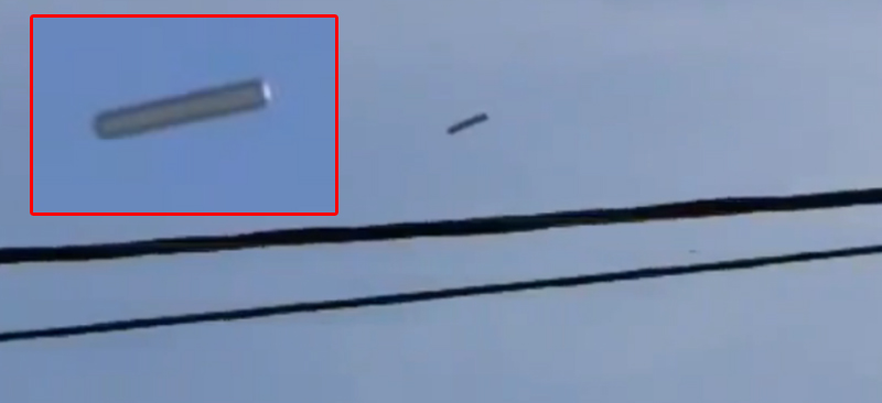 Amazing Crystal Clear Footage Of CIGAR SHAPED UFO 2013