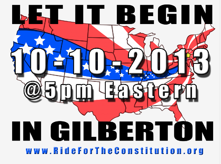 Truckers Ride for The Constitution Update