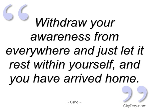 You Will Withdraw Your Energy From the System