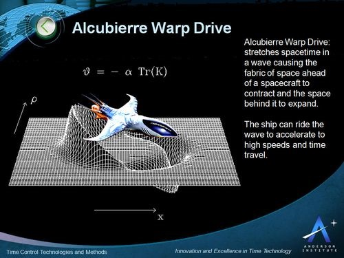 NASA Warp Drive Solution For Faster-Than-Light Travel
