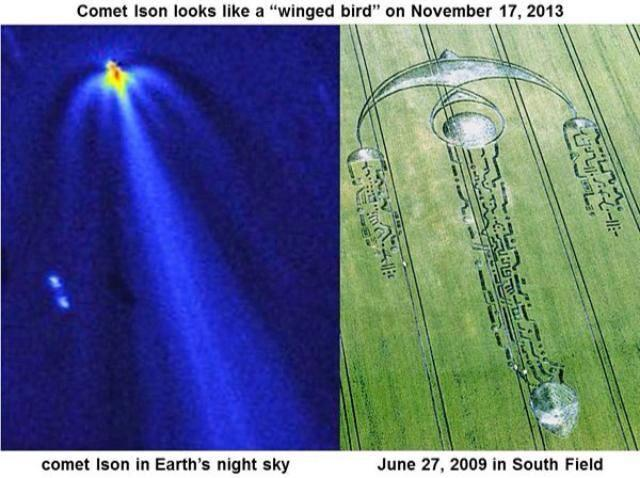 *MUST SEE* Comet Ison and The Crop Circles Connection