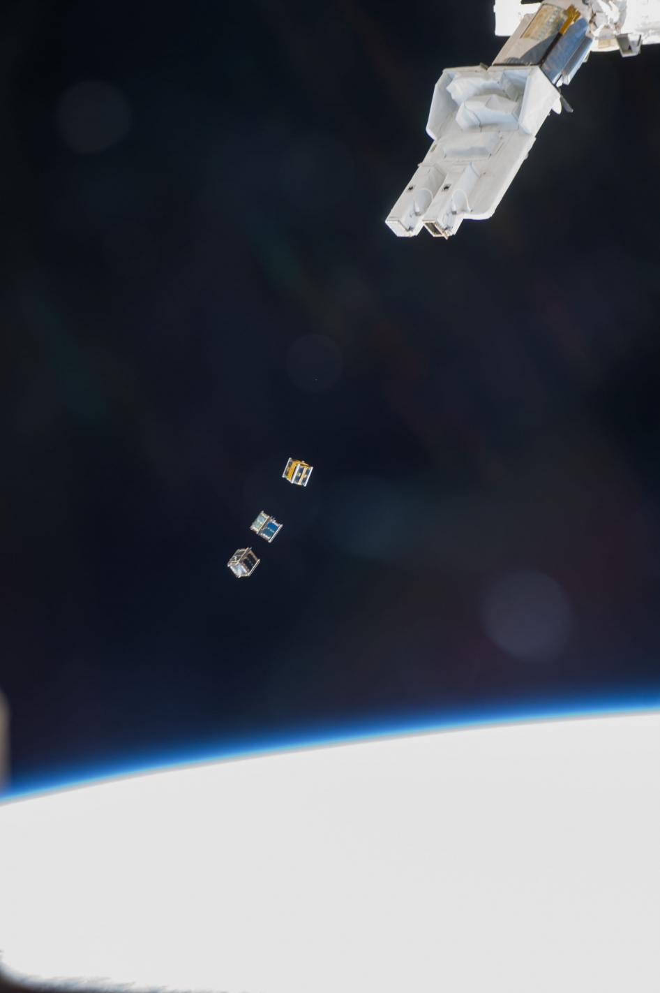 Cubesats Released From Space Station