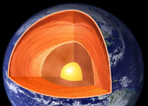 Two magma oceans deep inside young Earth, study suggests