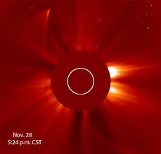 ISON Regaining Tail and Charge.