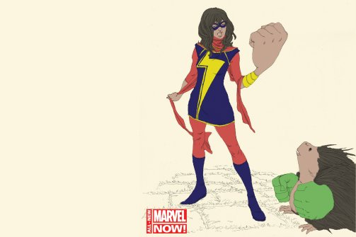 Marvel Comics Introducing a Muslim Girl Superhero
