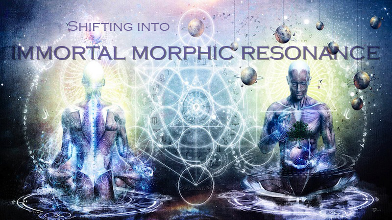 Shifting Into Immortal Morphic Resonance