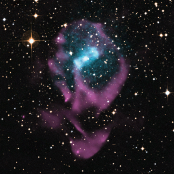 Supernova Blast Provides Clues to Determining Age of Binary Star System