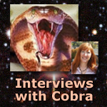 Cobra Interview with Alexandra Meadors 4-8-14…MP3s