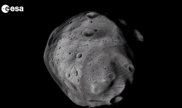 Mysterious Phobos, 360 Degree View