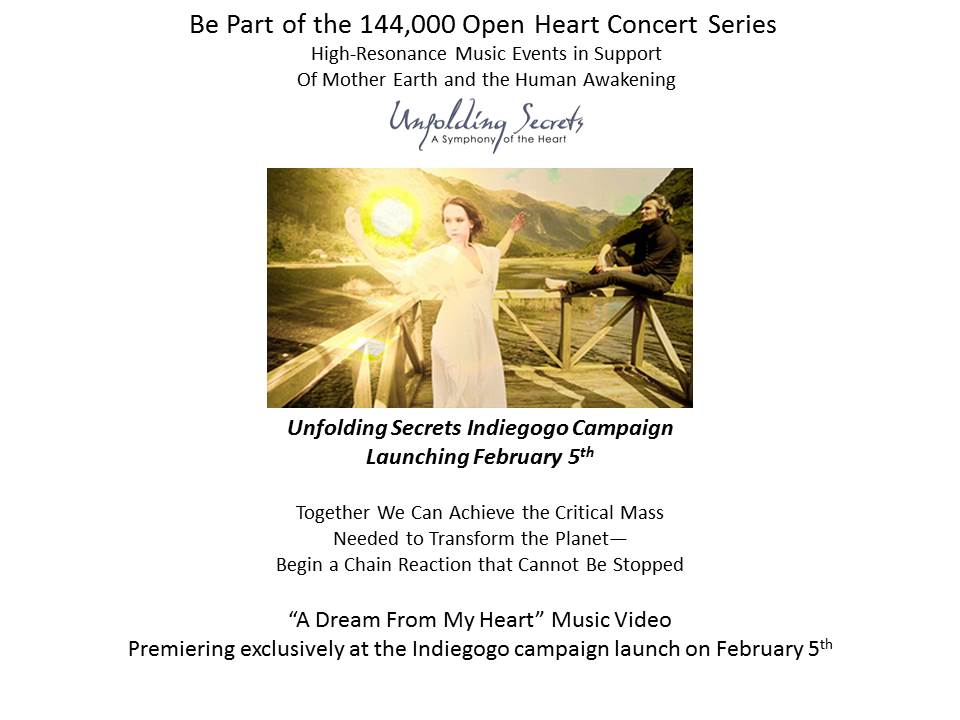 Marco Missinato's Unfolding Secrets – Open Heart Concert Series