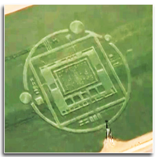 Elaborate Crop Circle Hoax in Chualar, California [video]