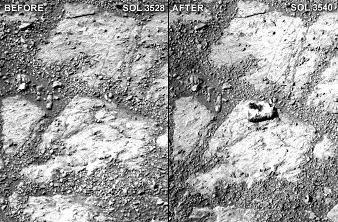 Mystery Rock Appeared In Front of Mars Rover, We Are Surprised, NASA Says