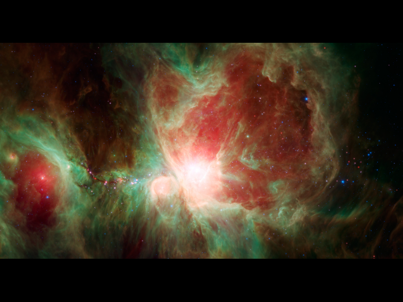 Spitzer's Orion – GORGEOUS!!!!
