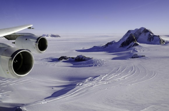 Scientists discover giant trench under Antarctic ice