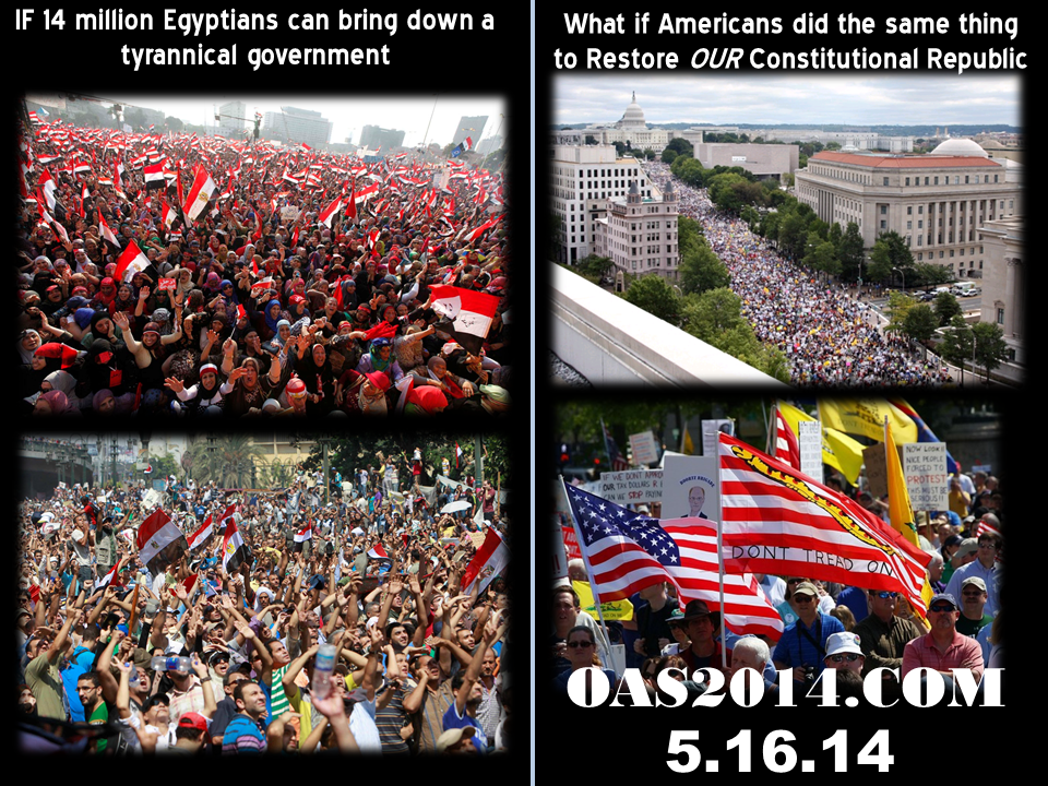 Operation American Spring Call to Americans For Action May 16, 2014