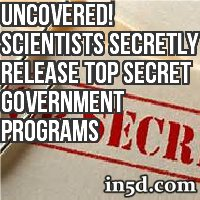 Uncovered! Scientists Secretly Release Top Secret Government Programs