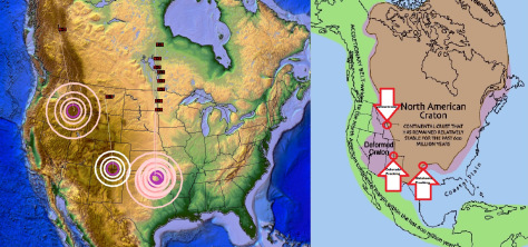 4/11/2014 — Colorado Fracking Earthquake — Pressure showing on the craton edge