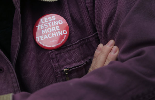 'Act of Conscience' as Teachers Vow Permanent Boycott of Common Core