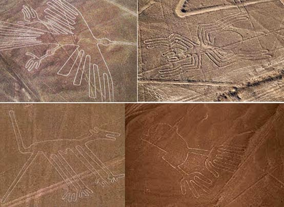 High winds expose previously unknown Nazca geoglyphs