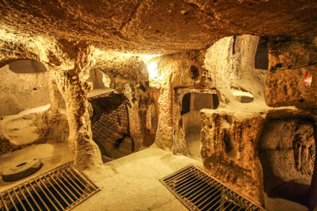 Home owner discovers ancient underground city beneath his house in Anatolia, Turkey