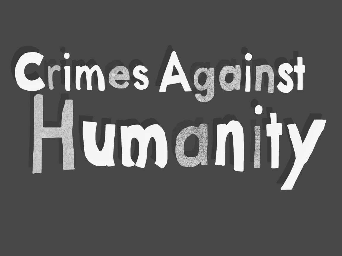 essay on crimes against humanity