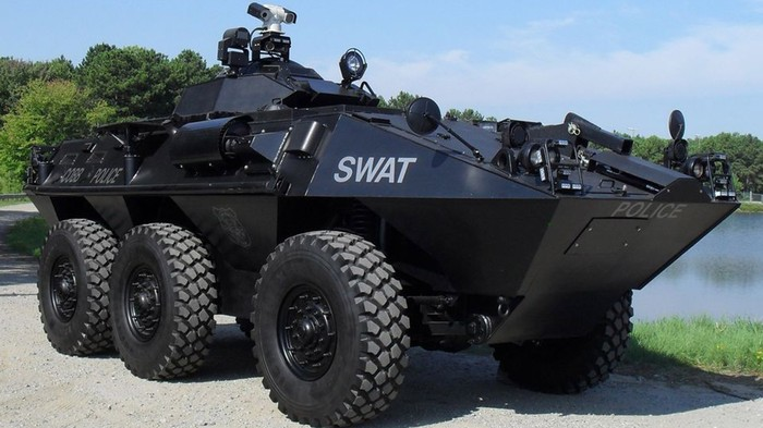 Obama Calls For Turret-Mounted Video Cameras On All Police Tanks
