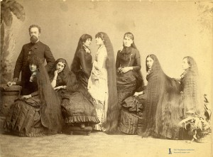 long haired victorians