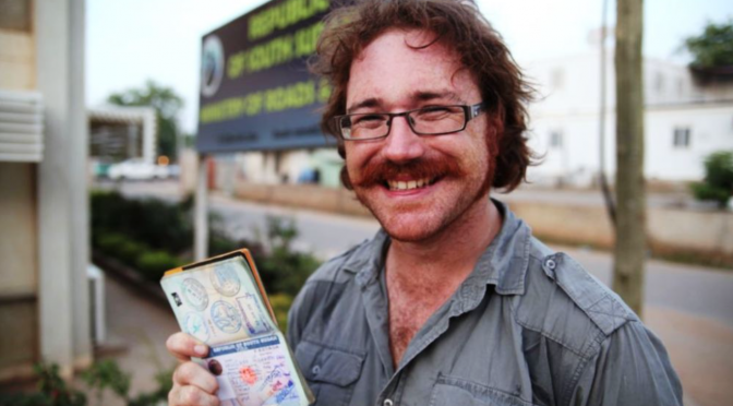 This man has traveled to 201 countries… Without flying