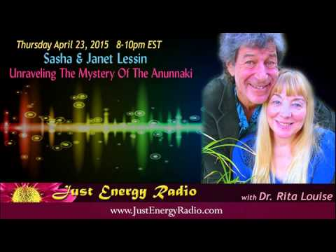 Unraveling The Mystery Of The Anunnaki – Sasha Lessin / Janet Lessin – Just Energy Radio