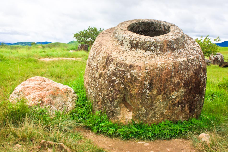 When Giants Roamed the Earth-The Plain of Jars in Laos