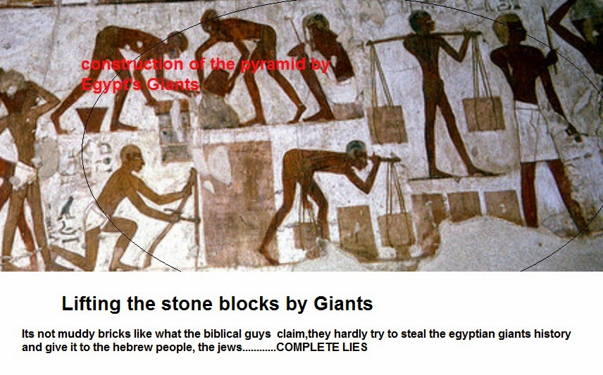 The Mystery of Pyramid's Construction Solved ( Giants Theory) (Video)