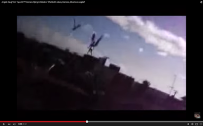 Angels Caught on Tape Flying in Window