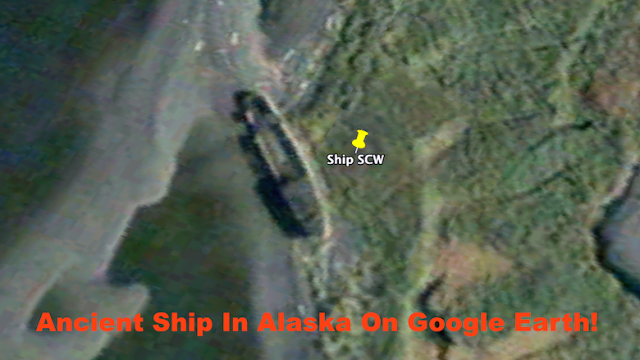 UFO Researcher Finds Ancient Ship In Alaska, July 2015 (Video)