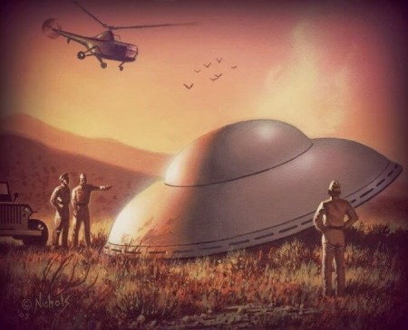 6 Mysterious UFO Crashes that Happened BEFORE Roswell