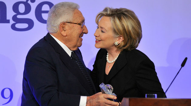 Leaked Emails Reveal Close Ties Between Kissinger And Clinton