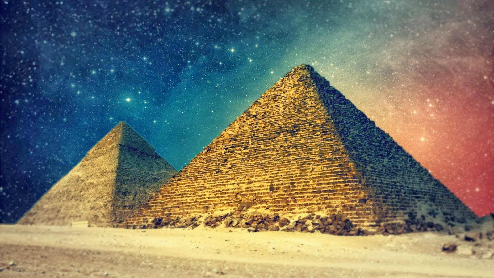 What Is Causing 'Mysterious Rays of Light' Radiating from Pyramids Around the World ? [VIDEO]