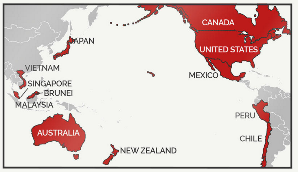 controversial trans pacific partnership agreement - 975×590