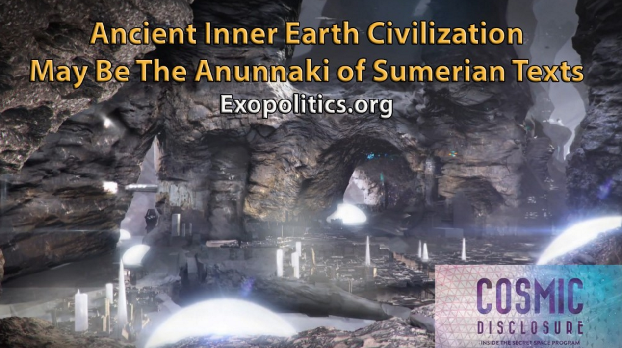 Ancient Inner Earth Civilization May Be the Anunnaki of Sumerian Texts