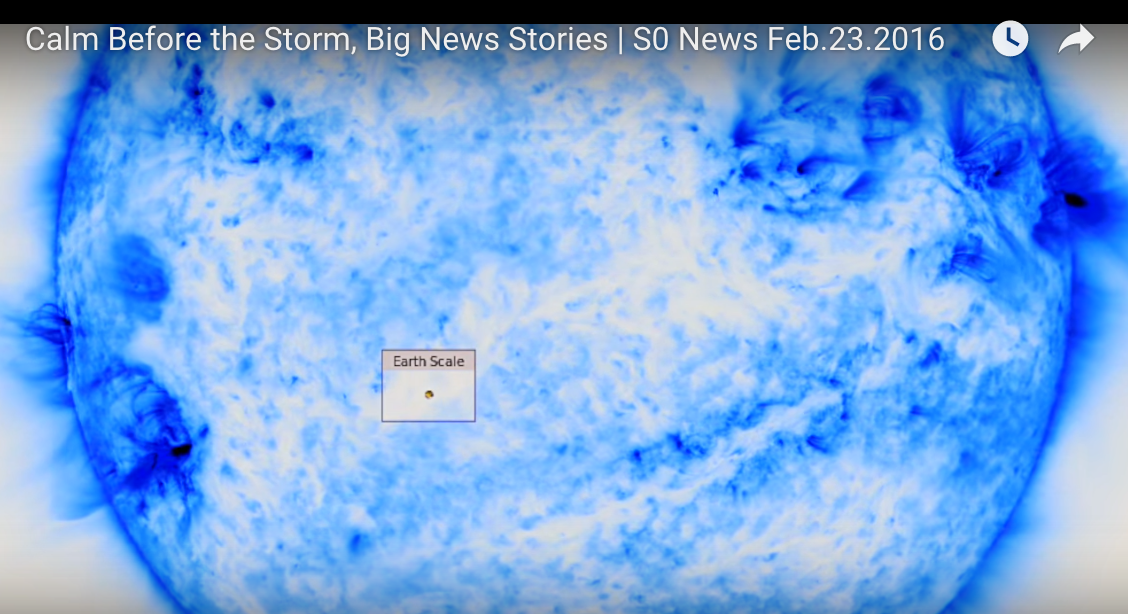 Calm Before the Storm, Big News Stories | S0 News Feb.23.2016 [VIDEO]