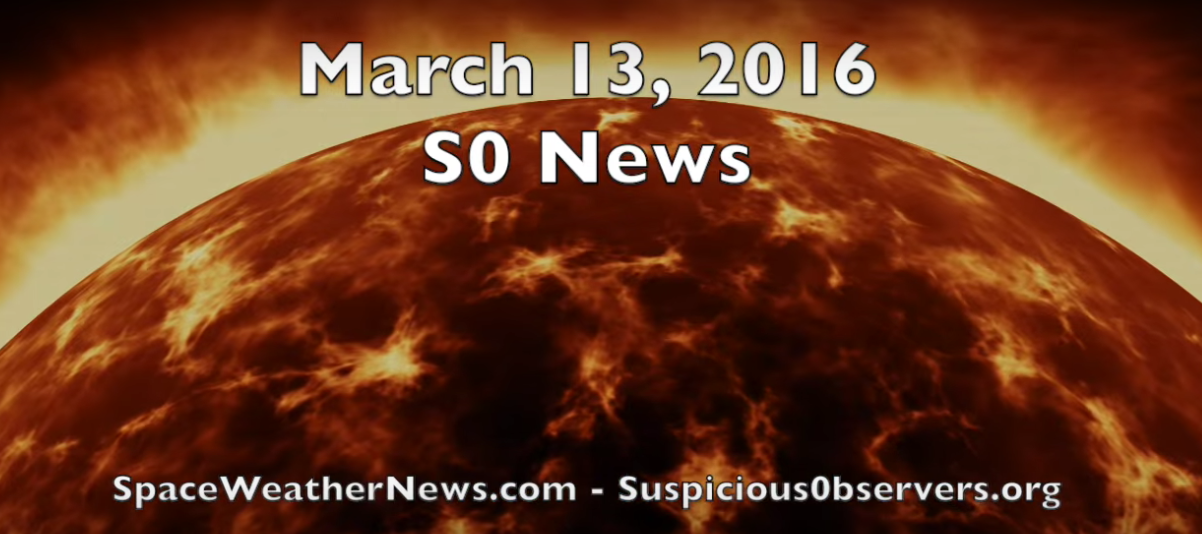 Short Update, All is Calm | S0 News Mar.14.2016 [VIDEO]