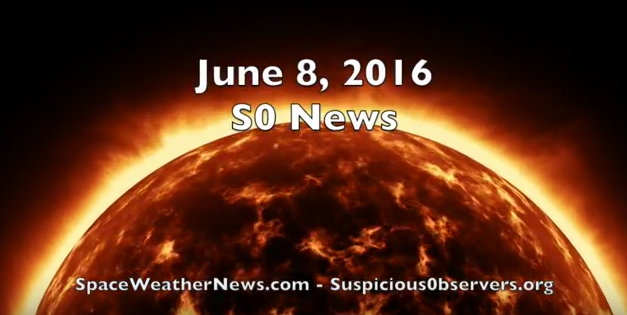 Earthquakes, Red Giants, Space Weather | S0 News June.8.2016 [VIDEO]