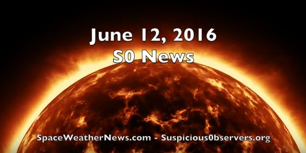 Solar Eruptions, ELVE, Drought | S0 News Jun.12.2016