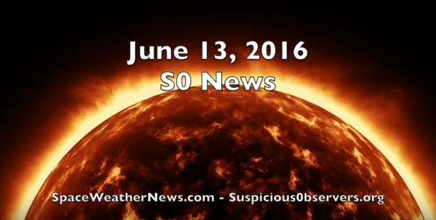 Tropical, Seismic & Geomagnetic Alerts | S0 News Jun.13.2016 [VIDEO]