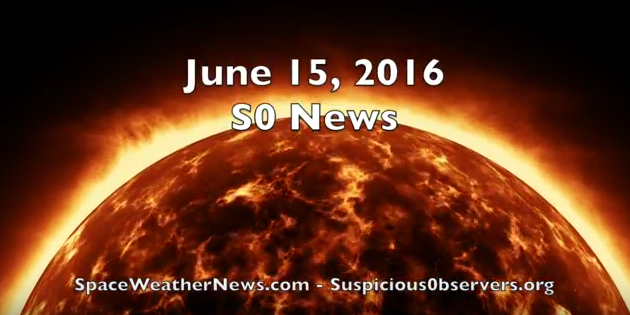Sun, Earthquakes, Hail | S0 News Jun.15.2016 [VIDEO]