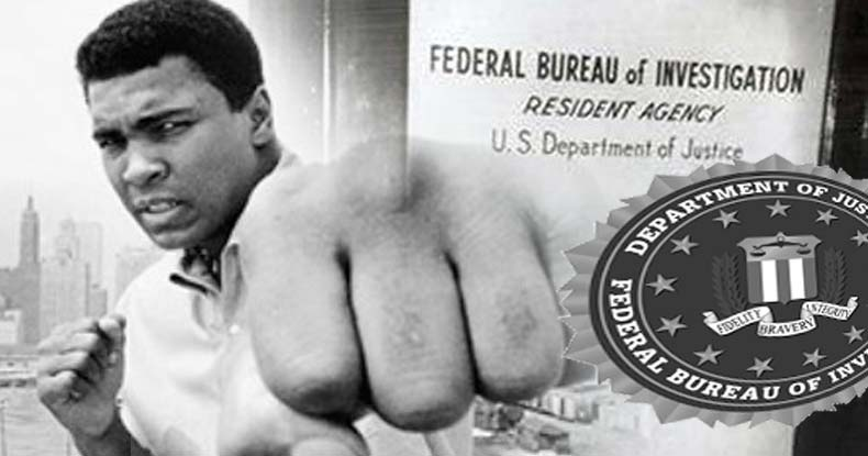 In 1971, Ali Helped Expose the FBI's Secret Murder Plots of Activists and Antiwar Disinformation