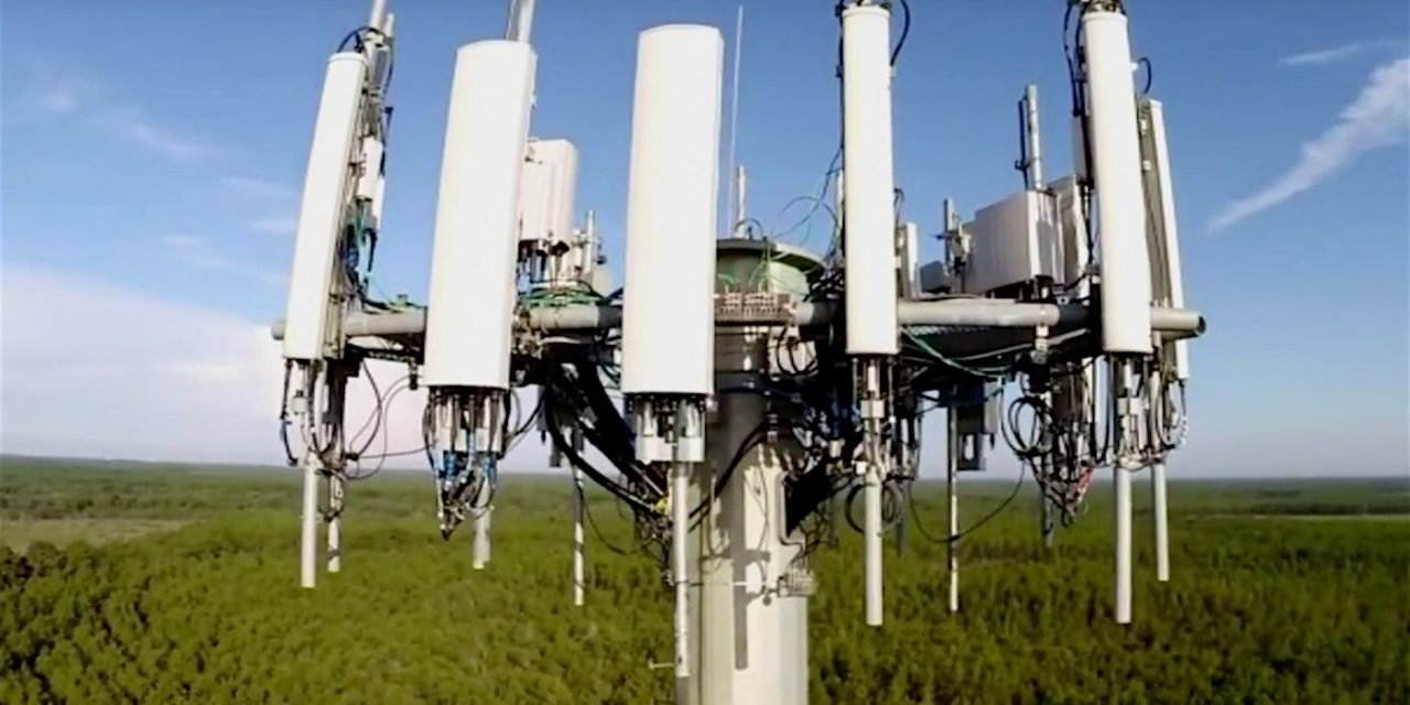 WEAPONIZED CELL TOWER FEATURES LARGE KILL RADIUS