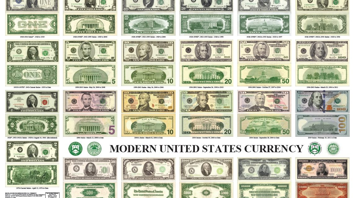 New U S Currency Already In Our Money Supply