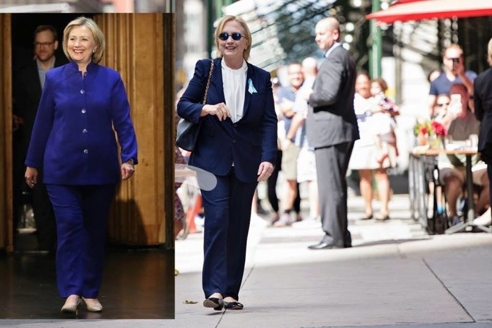 PHOTOS: HILLARY CLINTON'S 'BODY DOUBLE' CONTROVERSY AFTER HER 9/11 COLLAPSE – FACT OR FICTION? YOU LOOK, YOU JUDGE AND YOU DECIDE!