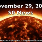 Solar Flare, CMEs, Extreme Weather | S0 News Nov.29.2016 [VIDEO]