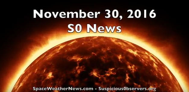 M Class Solar Flares, DM Class Solar Flares, Deadly Flooding, Desert Snow | S0 News Nov.30.2016 [VIDEO]